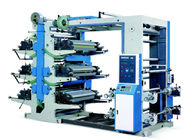 YT-6600 / 6800 / 61000 Six Colors Flexo Printing Machine Accurate Color Register