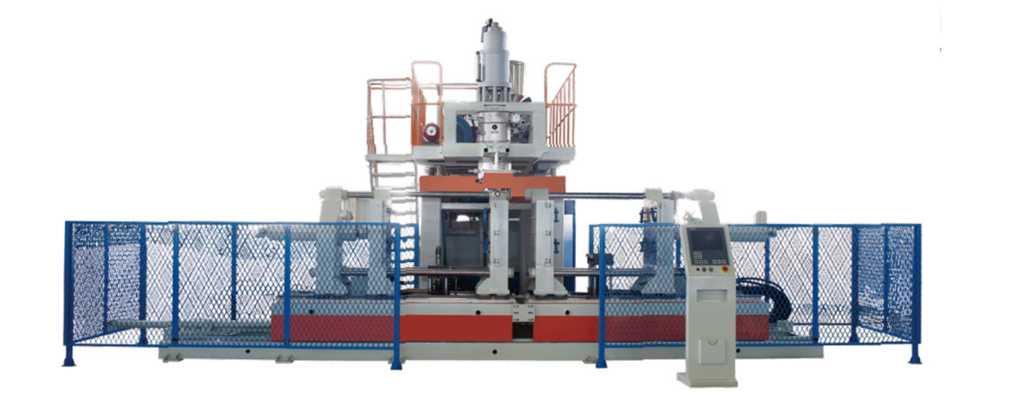 Reliable HDPE Blow Moulding Machine , Plastic Bottle Blowing Machine Stable Performance