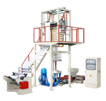 High Output Blown Film Line FB-D / Middle Speed Multilayer Blown Film Machine