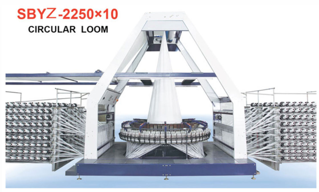 Low Failure PP Woven Bag Production Line , Pp Woven Sack Making Machine SBYZ-2500x10