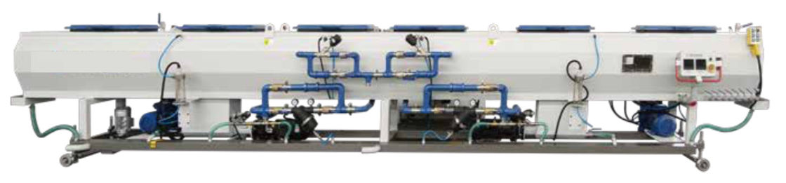 Vacuum Tank HDPE Pipe Production Line , HDPE Pipe Extrusion Line SUS304 Stainless