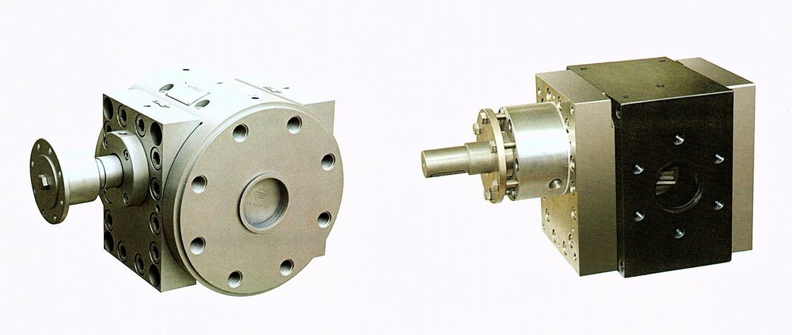 Leakage Proof Plastic Extrusion Line Melt Measuring Gear Pump 1 Year Warranty