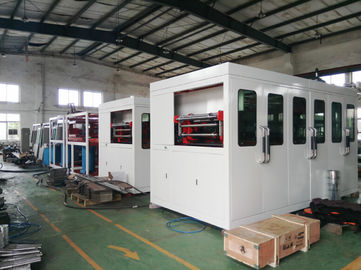 TQC-750 Plastic Thermoforming Machine Daily Used 0.2-2.0 Mm Sheet Thickness High Efficiency