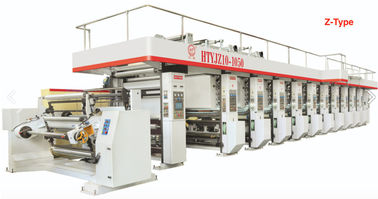 China Mechanical Poly Bag Printing Machine MLS With Servo Motor Tension Control System factory