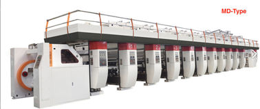China 400 M/Min Plastic Film Printing Machine High Speed Individual Motor Driving factory