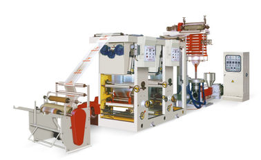 China Film Blowing And Gravure Flexo Printing Machine FB-K / L 0.01-0.10 Mm Thickness factory