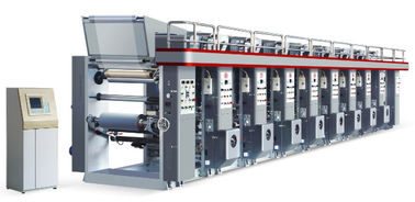 China High Speed Plastic Film Printing Machine HQASY-B 800/1000 CE Approval factory
