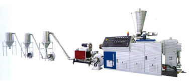 High Capacity Plastic Pipe Production Line PVC Twin Screw Extruder Pelletizing Line
