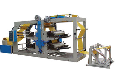 China Woven Cloth Tube Flexographic Printing Machine / Aniline Printing Machine High Speed Running factory