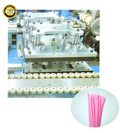 China High Speed Plastic Drinking Straw Production Line JH05-H Spoon Straw Making Machine factory