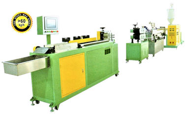 JH09 Series Hard Tube Plastic Pipe Production Line / Plastic Extrusion Line For Straw