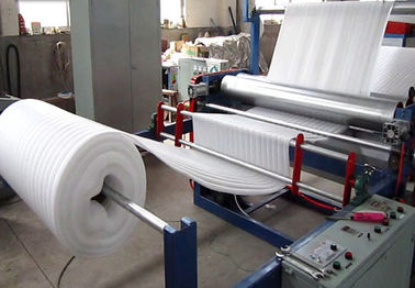 China Electrical Energy Saving Epe Foam Sheet Production Line Thickening Machine Air Heater Type factory
