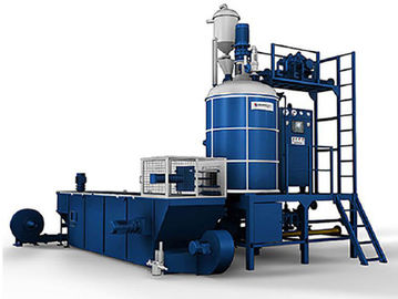 Automatic Feeding System EPS Foam Production Line Batch Pre Expander Machine